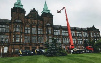 Chimney surveys at Jordanhill Glasgow
